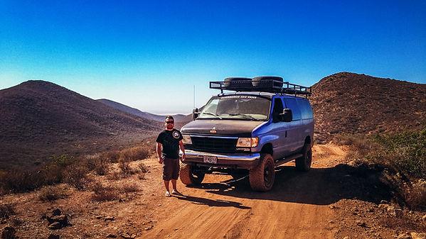 4x4 Van Baja