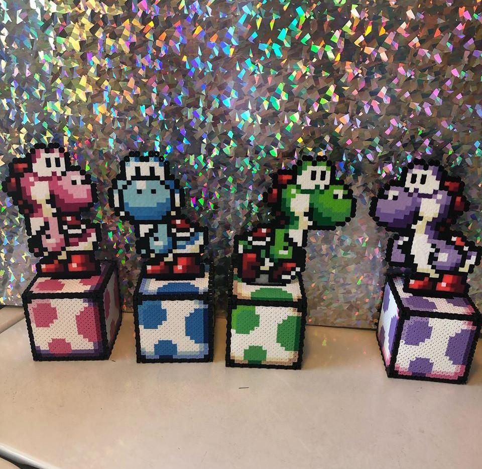 Yoshi Coin Boxes