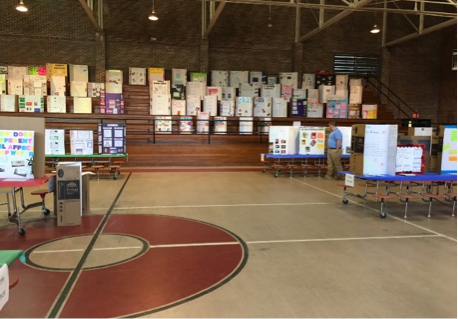 Barnwell Elementary School Science Fair Judging