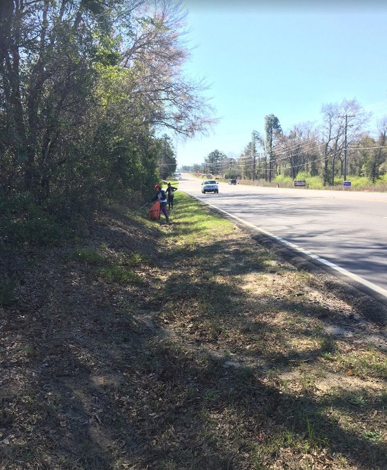 ACS-SR Adopt-A-Highway [Whiskey Rd] Cleanup