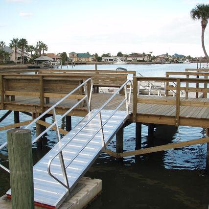 Dock, Gangway, Floating Dock