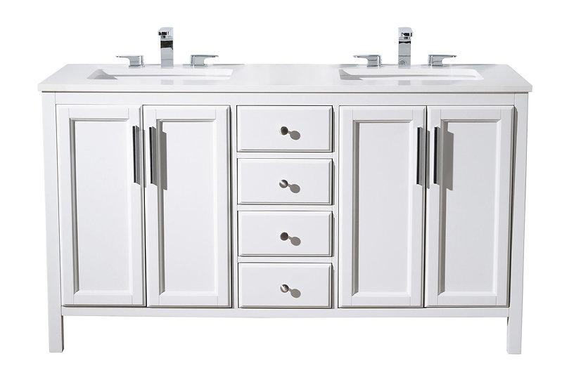 """Emily 59"""" Double Sink Vanity"""