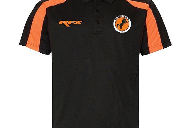 Beaufort Colts - RFX Black & Orange Polo