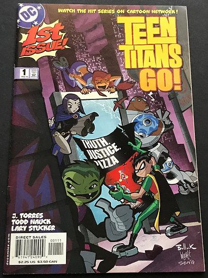 Teen Titans Go (DC) #1 VF/NM
