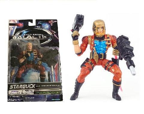 Battlestar Galactica Blue Viper Pilot Starbuck Action Figure 1996 Trendmasters