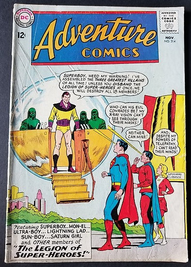 Adventure Comics (1938 1st Series) #314 VG/FN