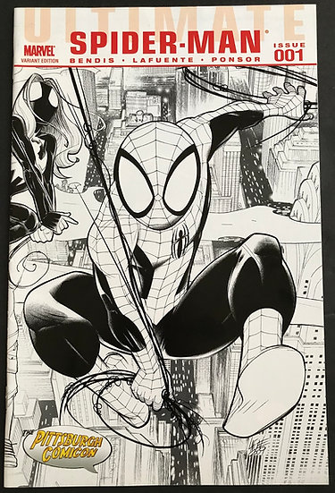 Ultimate Spider-Man (2009 2nd Series) #1 VF [Sketch Variant Edition]