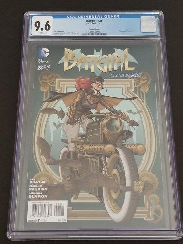 Batgirl 28 Steampunk JG Jones Variant CGC 9.6