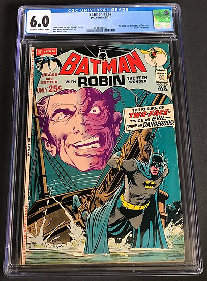 Batman (1940) #234 CGC 6.0 Off-White To White Pages