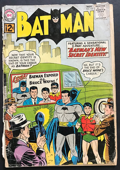 Batman (DC) #151 GD+