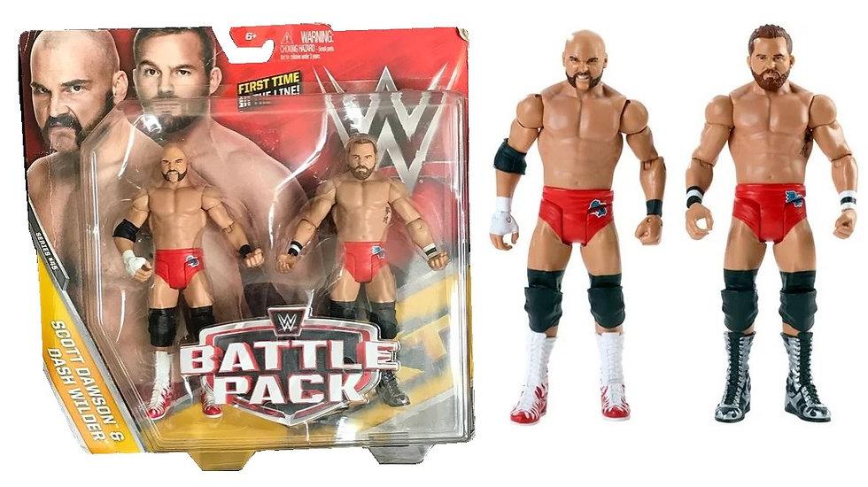 WWE Battle Pack Scott Dawson And Dash Wilder Action Figure 2 pack