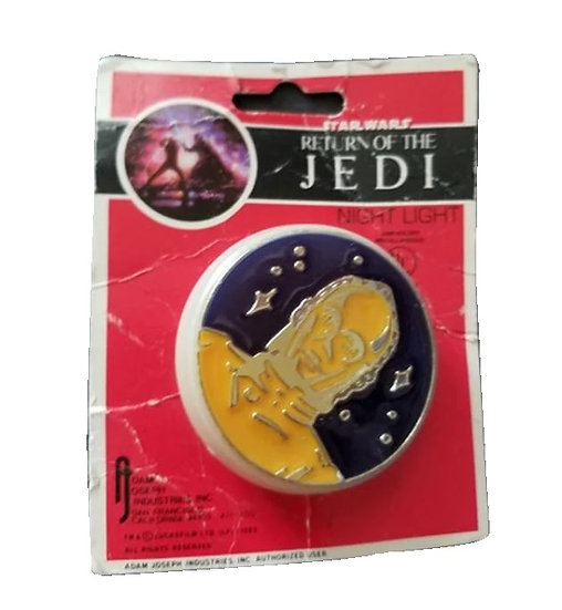 1983 ROTJ C-3PO Night Light is MOC