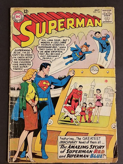 Superman 162 GD