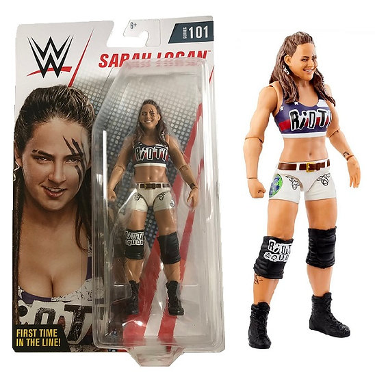 WWE Series 101 Sarah Logan Wrestling Figure