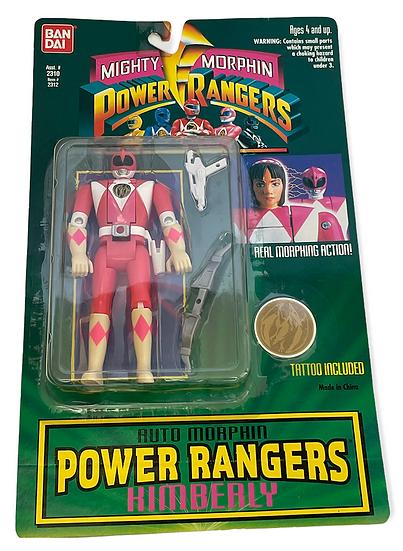 1994 Mighty Morphin Power Rangers Auto Morphin Kimberly
