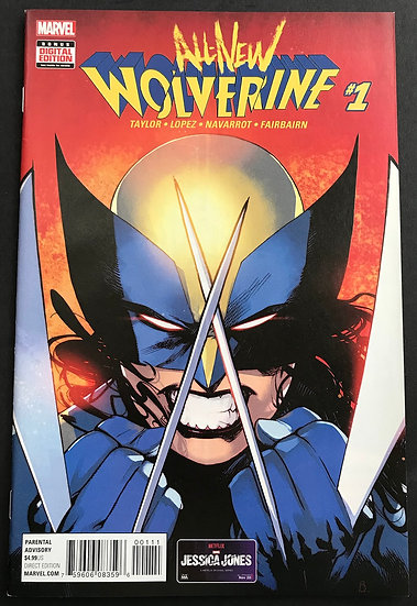 All-New Wolverine 1 NM