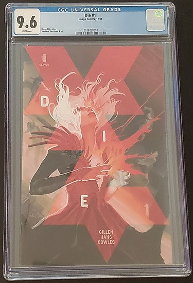Die 1 CGC 9.6. White Pages,.Cover by Hans. 1st Print.