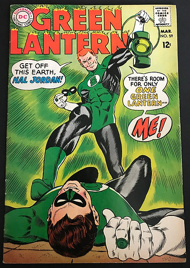 Green Lantern (1960-1988 1st Series DC) #59 VF- [1st Appearance of Guy Gardner]