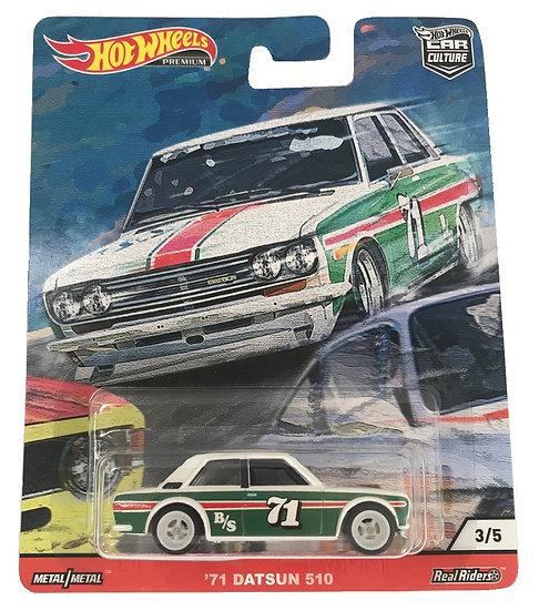 Hot Wheels Car Culture '71 Datsun 510