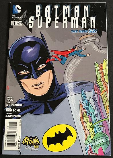 Batman Superman (DC) #11 VF/NM [Retailer Incentive Variant Cover]