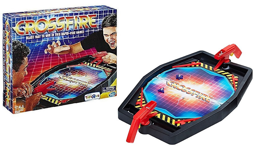 Hasbro Crossfire Rapid Fire Board Game Toys R Us Exclusive