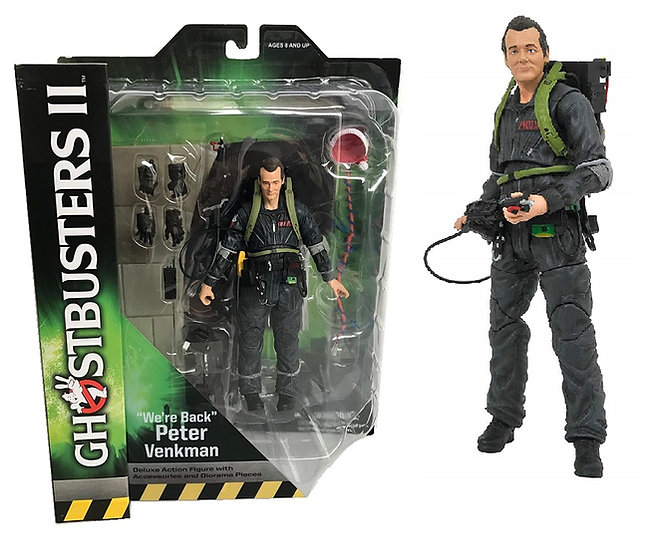 "Ghostbusters ll 'We're Back"" Peter Venkman Deluxe Action Figure"