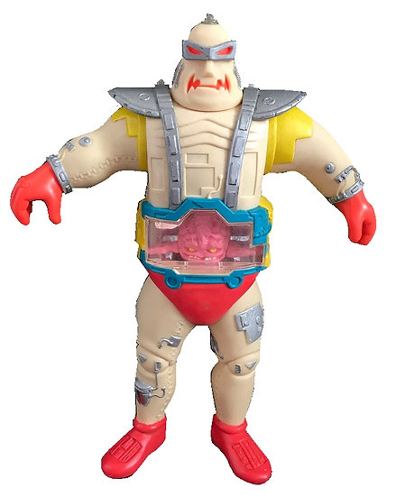 1991 Vintage TMNT 11 inch Krung With Android Body Loose [Broken Antenna]