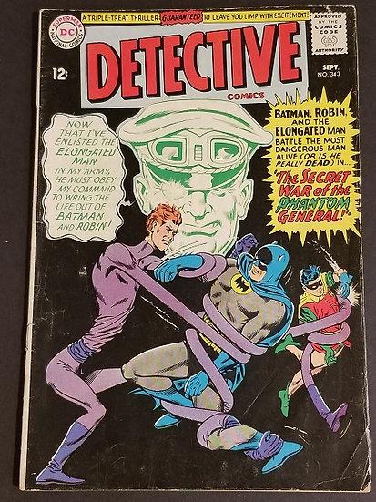 Detective Comics (1937 1st Series) #343 VG+