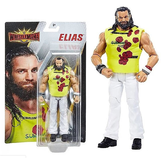 WWE Wrestlemania Elias Wreslting Action Figure