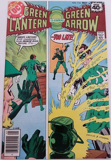 Green Lantern (1960-1988 1st Series DC) #116 NM-