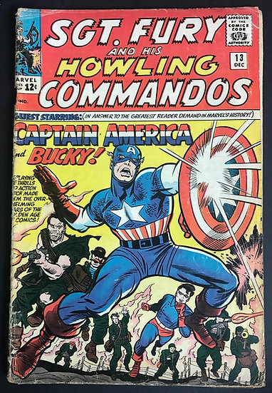 Sgt. Fury (1963) #13 GD+