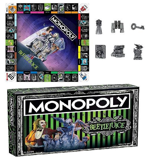 Beetlejuice Monopoly Board Game
