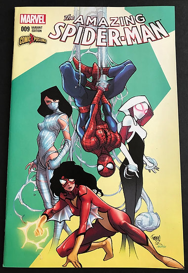 Amazing Spider-Man 9 Pasquale Ferry ComicXposure Variant Cover NM