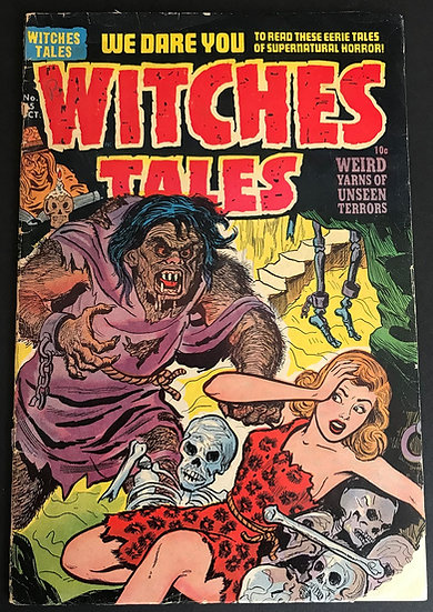 Witches Tales (1951 Harvey) #15 GD