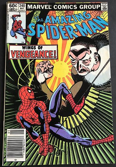 Amazing Spider-Man (Marvel) #240 FN [Mark Jewelers]