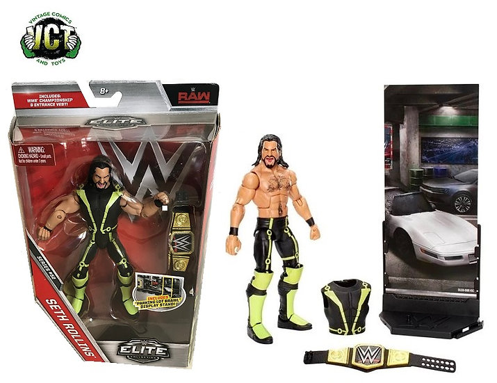 WWE Elite Collection Series 52 Seth Rollins Action Figure