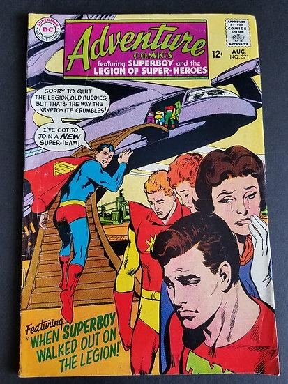 Adventure Comics 371 FN