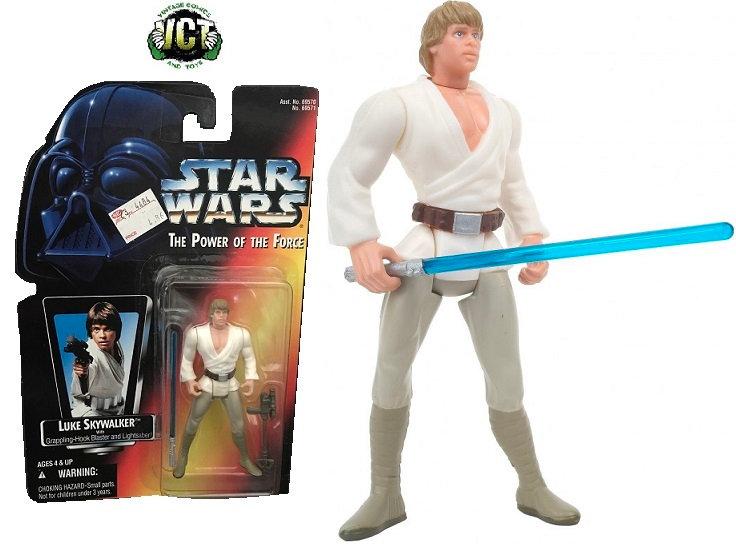1995 Star Wars The Power Of The Force Luke Skywalker