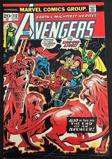 Avengers (1963 1st Series) #112 VF-