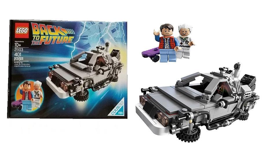 LEGO Back To The Future Delorean 21103 is MISB.