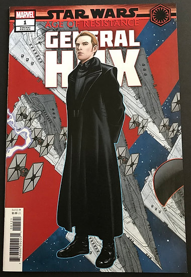Star Wars Age of Resistance General Hux (2019 Marvel) #1B NM [Variant Edition]