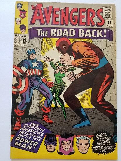 Avengers (Marvel ) #22 FN+
