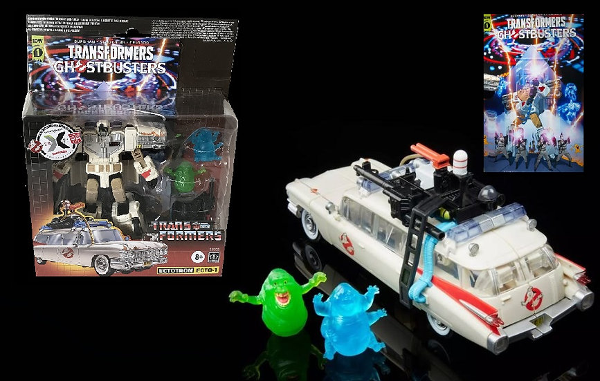 Ghostbusters Transformers Generations Ectotron Ecto-1