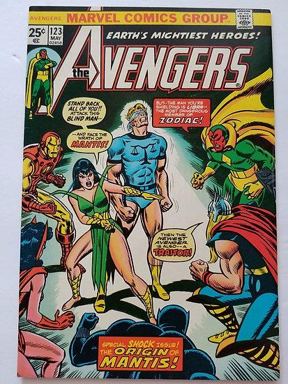 Avengers (Marvel ) #123 NM-