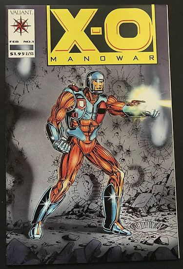 X-O Manowar (Valiant) #1 FN/VF [Bottom Split]