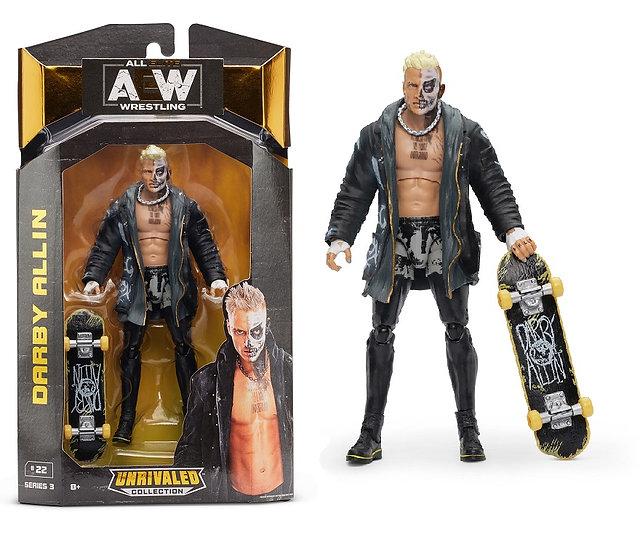 AEW Unrivaled Series #3 Darby Allin Wrestling Figure