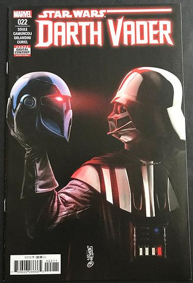 Star Wars Darth Vader (2017 Marvel 2nd Series) #22