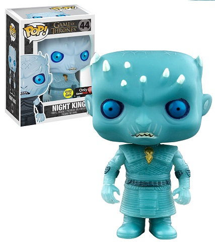Funko Game Of Thrones Night King 44 Glow In The Dark Game Stop Exclusive