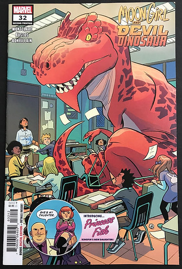Moon Girl and Devil Dinosaur (2015) #32 VF/NM [2nd Printing]