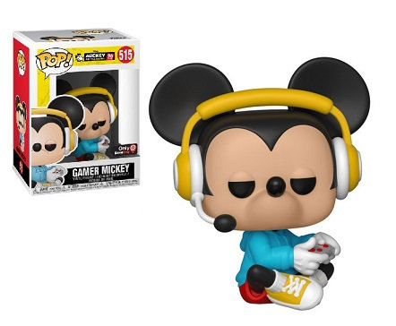 Funko Pop Disney Mickey's 90 Years Gamer Mickey 515 Game Stop Exclusive
